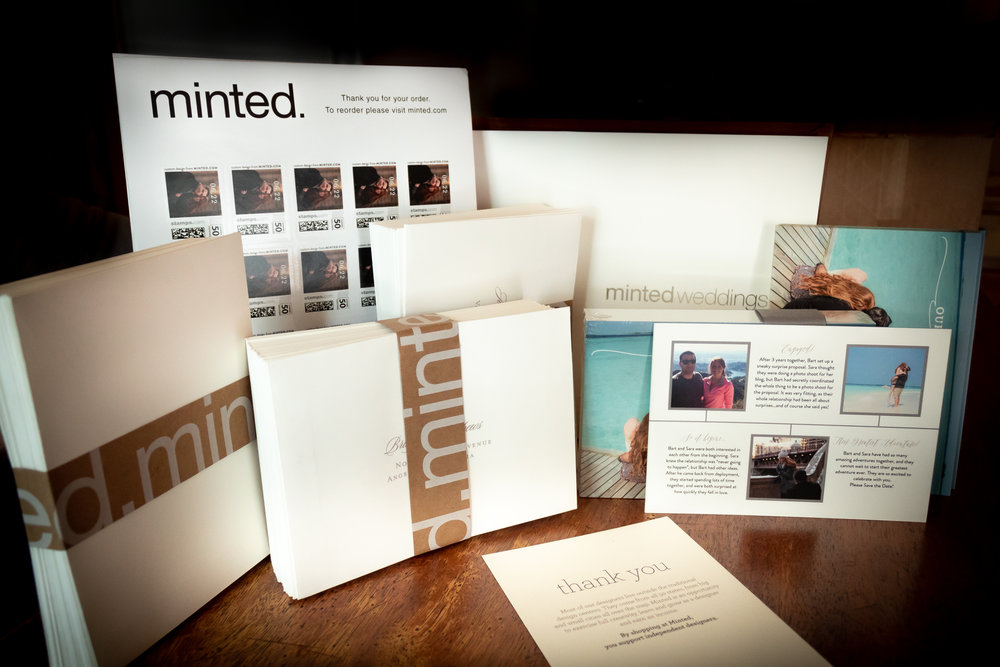 Minted Save the Dates for your wedding