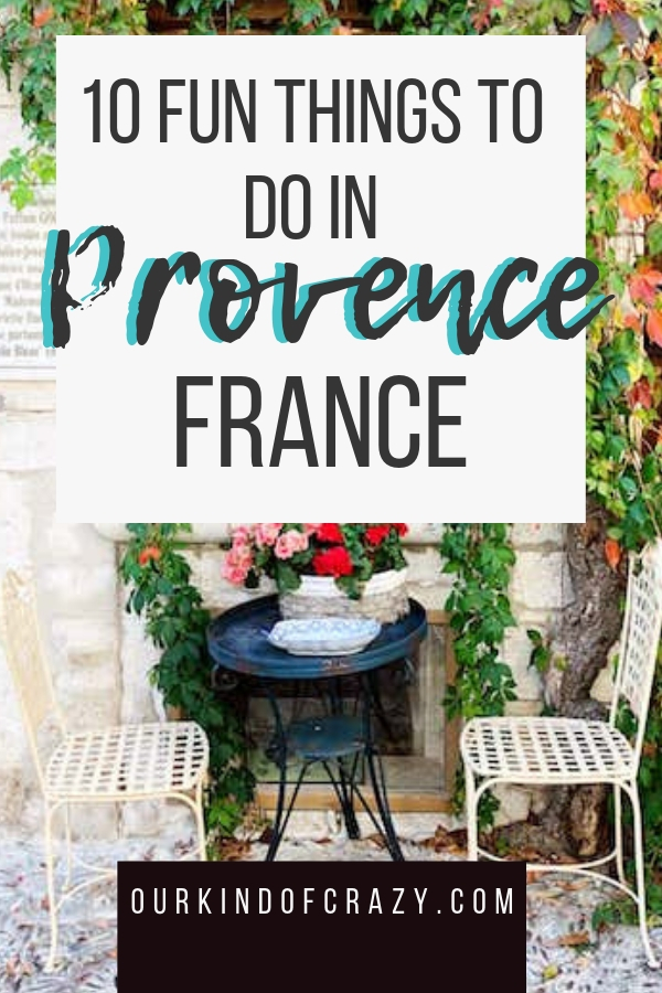 Best things to do in Provence France. France is more than just the Eiffel Tower!