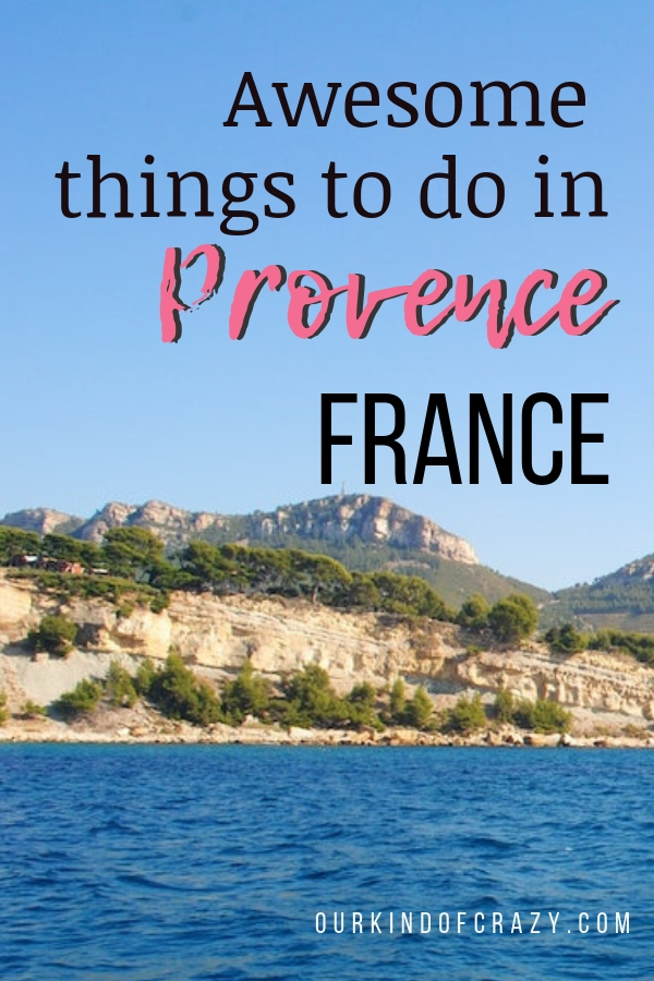 Best things to do in France. Don't forget to visit Provence, France