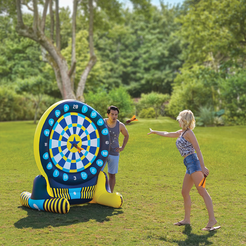 6 foot inflatable dart board