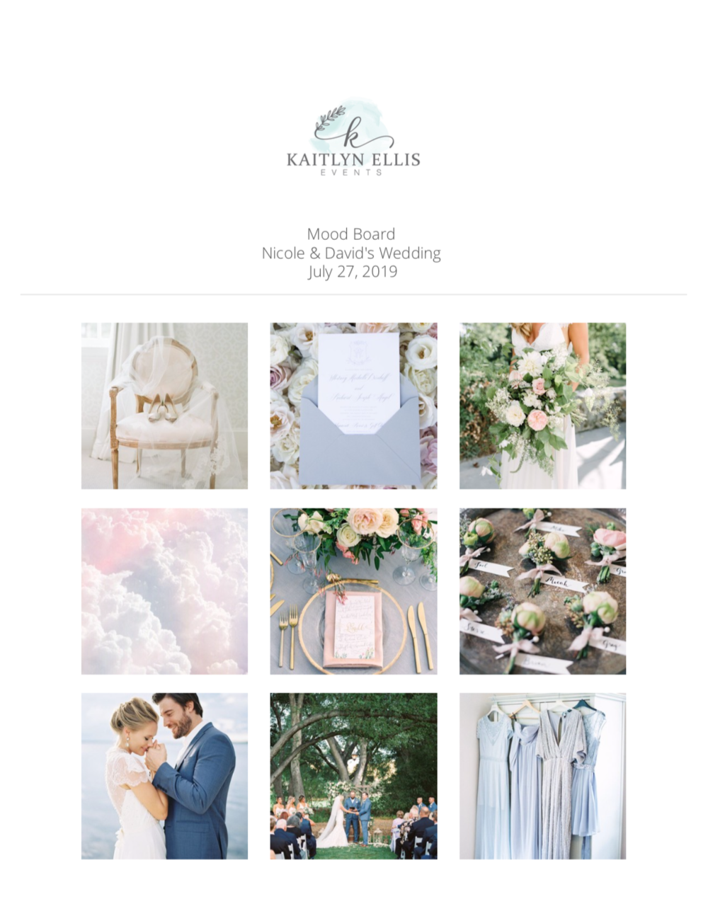 Kelowna Wedding Designer