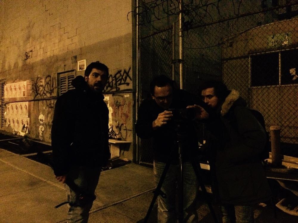 Carles Torras (Director), Juan Sebastián Vásquez (Cinematographer), Emanuele Tiziani (Editor) - New York City