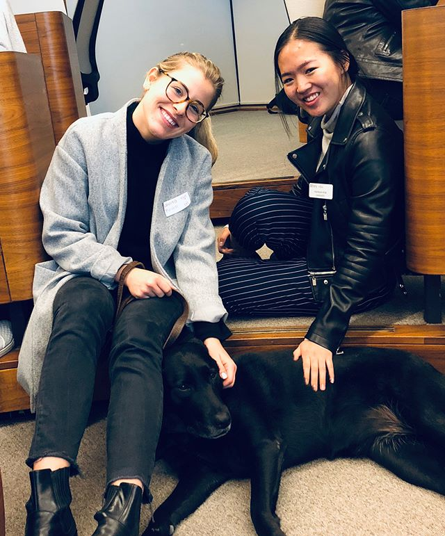 Thanks again to everyone who came out to our Mentorship event and hung out with our mascot, Piper 🐶. Mentees & mentors - make sure to keep in touch with eachother! 👭