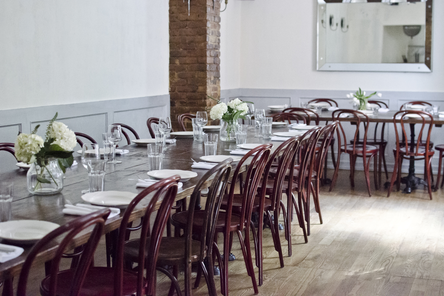 The Upstairs Room At Dino Offers A Private Dining Experience With Same Look And Feel Of Main Restaurant