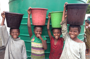 There's Water Scarcity for more than 40% of people worldWIDE