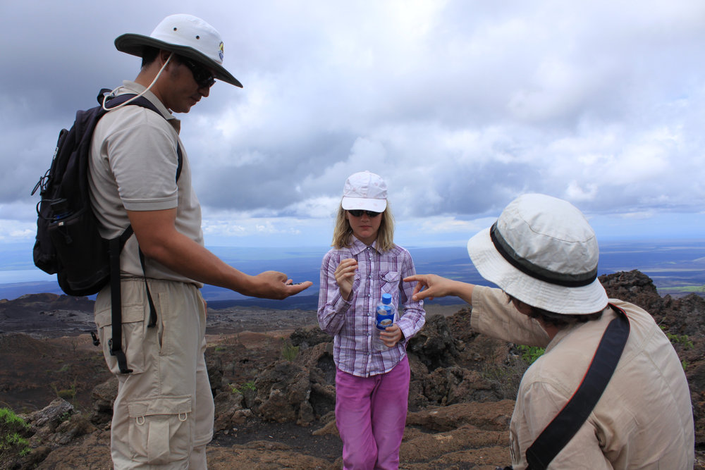 National Park Guiding, Galapagos Islands