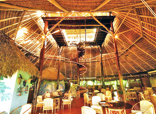 lapa rios - open air, pole and thatch indigenous design & build