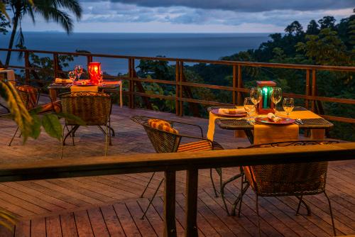 Lapa Rios Costa Rica balcony dining