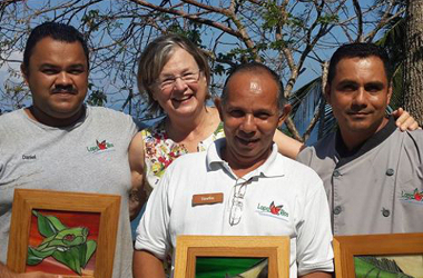 Karen lewis, earth changer conservationist & co-founder of lapa rios, one of the world's most nature-immersed ecolodges >>