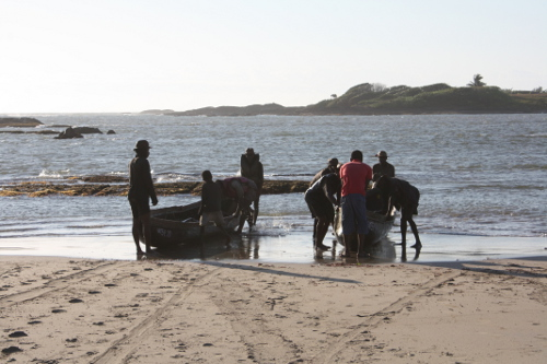 Madagascar lobster fishermen, sainte luce