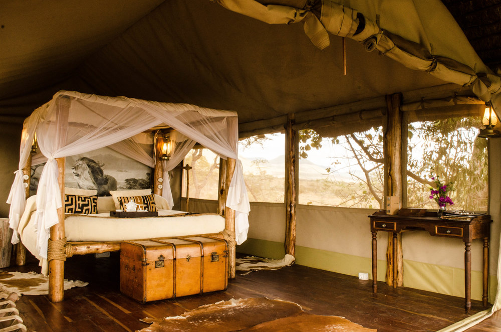 Kilimanjaro tented cottage