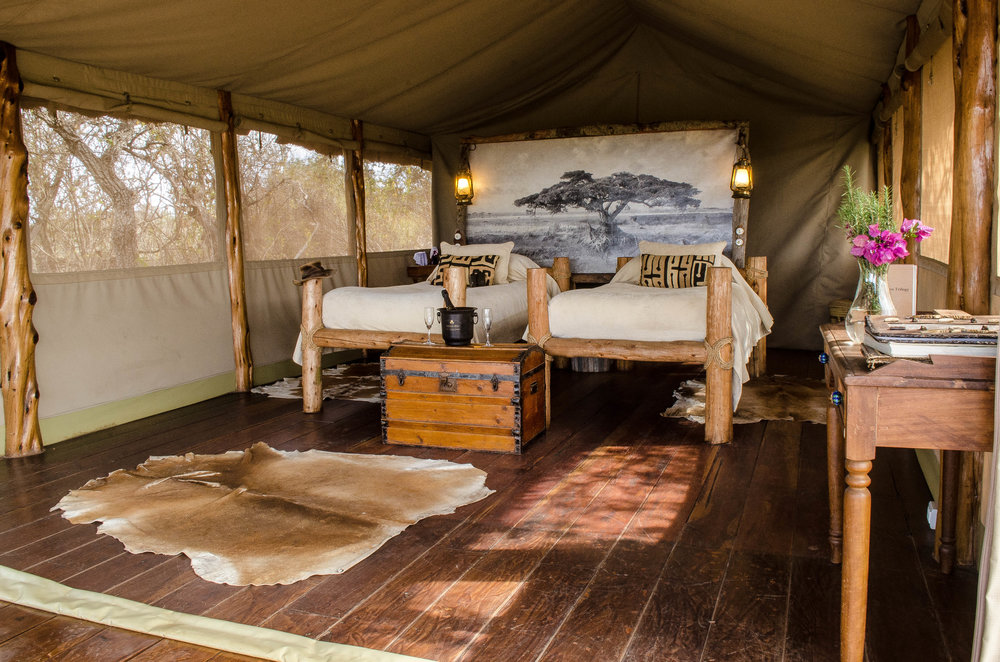 Olenyo Waitie tented cottage
