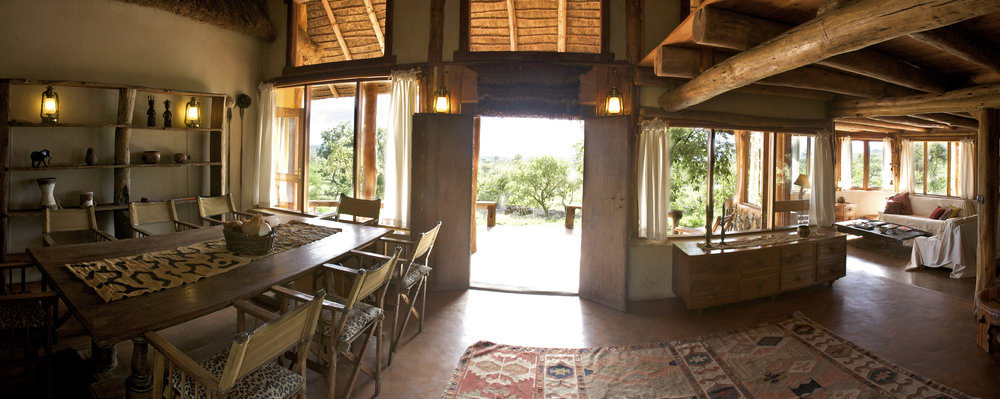 Kanzi House dining room
