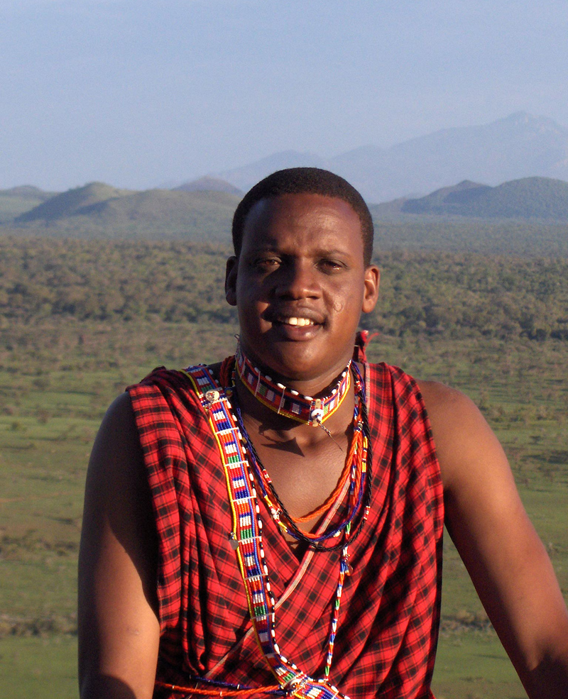 Samson Parashina - Head Guide & President of the Maasai Wilderness Conservation Trust