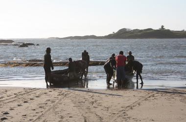 Lobster fishing, Sainte Luce, Madagascar
