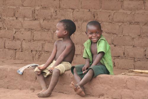 Cheeky kids Malawi