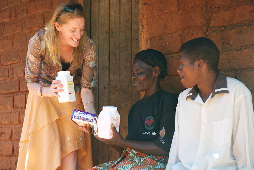 Kate Webb RSC Delivering Medicines Malawi