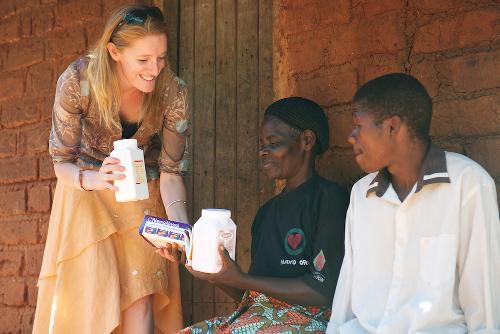 Kate Webb RSC Delivering Medicines Malawi
