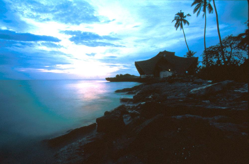 Sunset, Chumbe Island