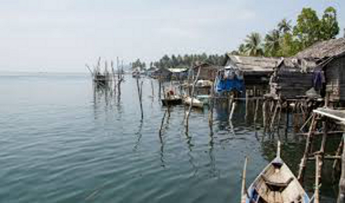 Coastal Community Local to Nikoi Island, Indonesia