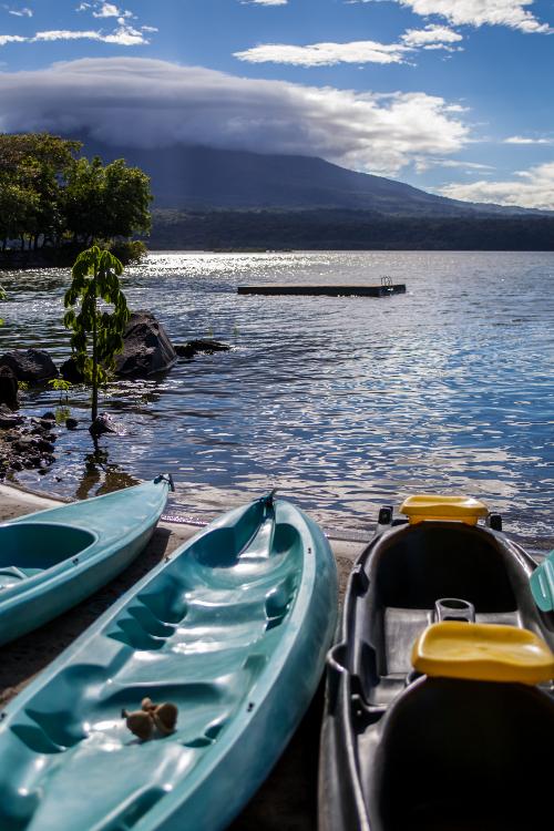 Jicaro Island Ecolodge Kayaks Lake Nicaragua