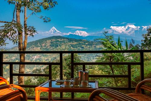 Nepal Tiger Mountain Pokhara Lodge - Private Verandah