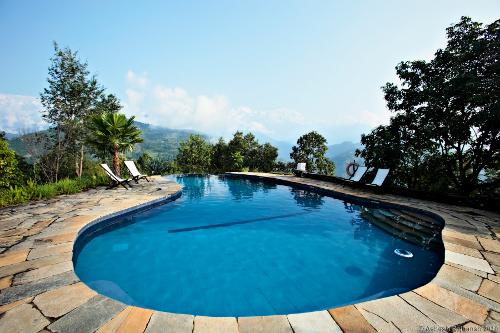 Tiger Mountain Pokhara Lodge Swimming Pool