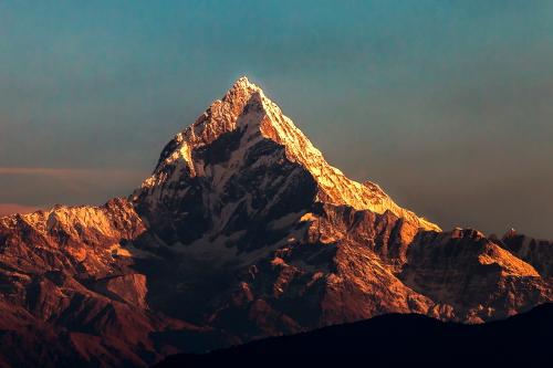 Fishtail The Matterhorn of Nepal