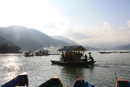 Pokhara - Lake Phewa