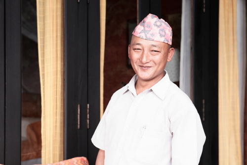 Tiger Mountain Pokhara Lodge, Nepal - Room Steward, Amar Lama
