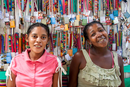 Stitch St Luce, a project set up by SEED Madagascar