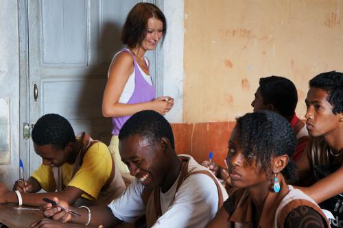 SEED Madagascar teaching