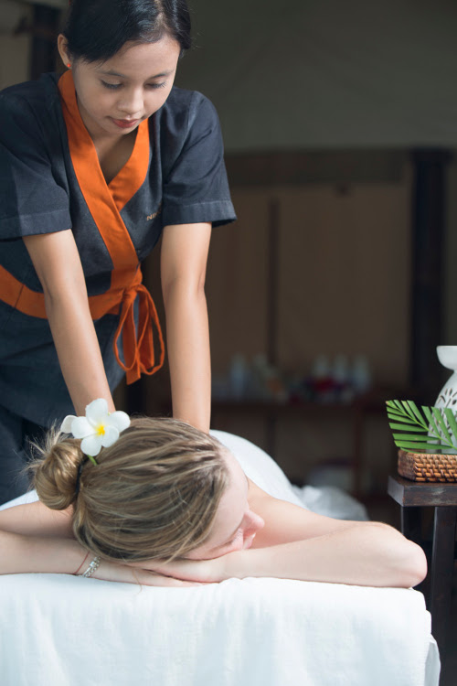 Nikoi Island Indonesia massage