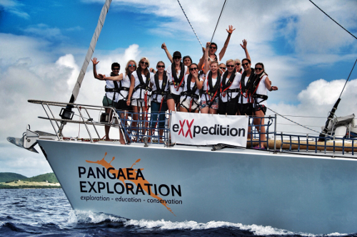 Pangaea Exploration All female ocean conservation exxpedition