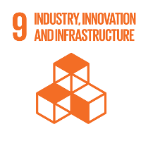 Sustainable development goal SDG 9 infrastructure, industry & innovation