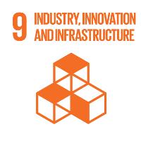 Sustainable development goal SDG 9 infrastructure, industry & innovation