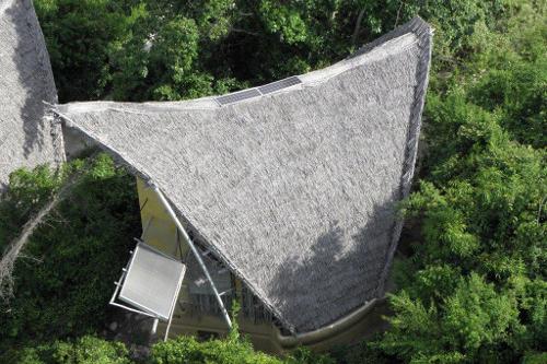 Chumbe Island Tanzania Solar water heater
