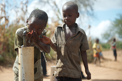 RSC water supply for community in Malawi