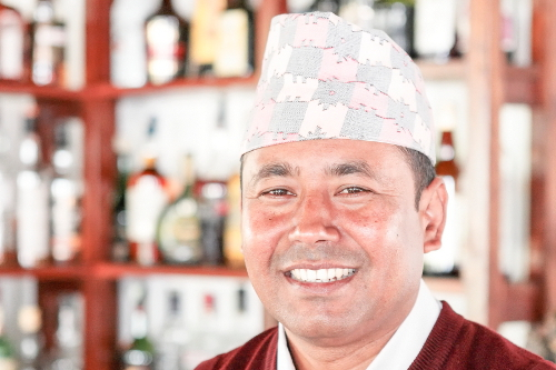 Rooms Manager - Dol Raj Shrestha