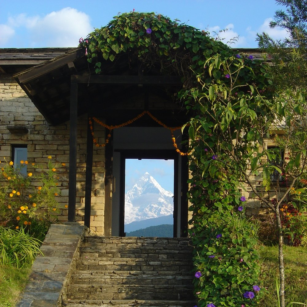 Nepal-Tiger-Mountain-Pokhara-Lodge-Main Entrance - Plowman.jpg