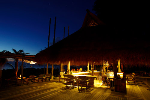 Balmy nights at this all-natural organic Indonesian beach bar