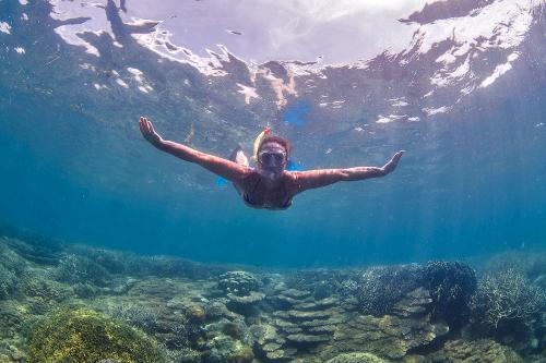 Chumbe Island Tanzania snorkel