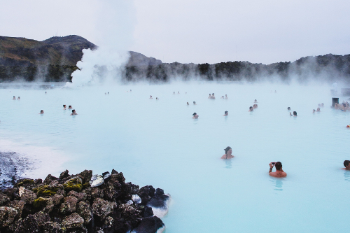 iceland hot springs - a prime attraction