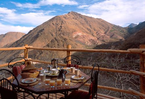 Apartment Suite Balcony Breakfast - Kasbah du Toubkal