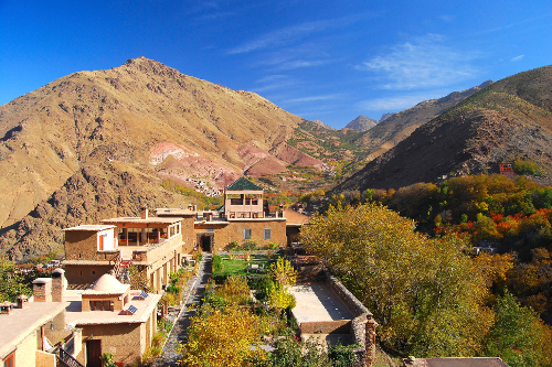 Kasbah du Toubkal from Tower ©Bonnie Riehl