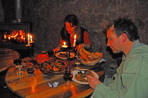 Interior Dining - Kasbah du Toubkal
