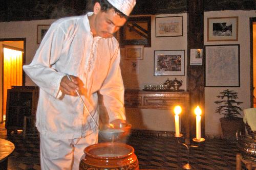 Dining Room Service Kasbah du Toubkal-