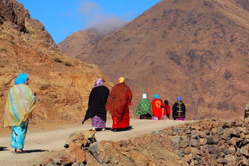 Local women - Kasbah du Toubkal