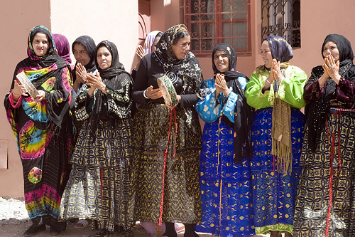 Local women - Education For All - Der Asni opening celebration