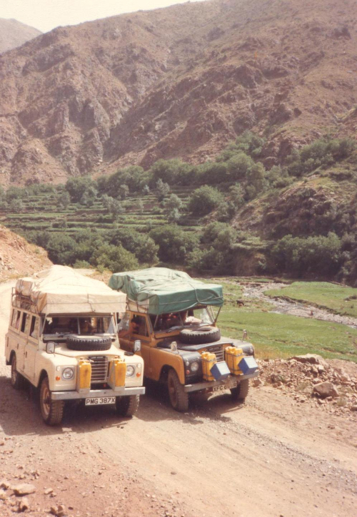 Mike's Hobo Travel Land Rovers, Morocco